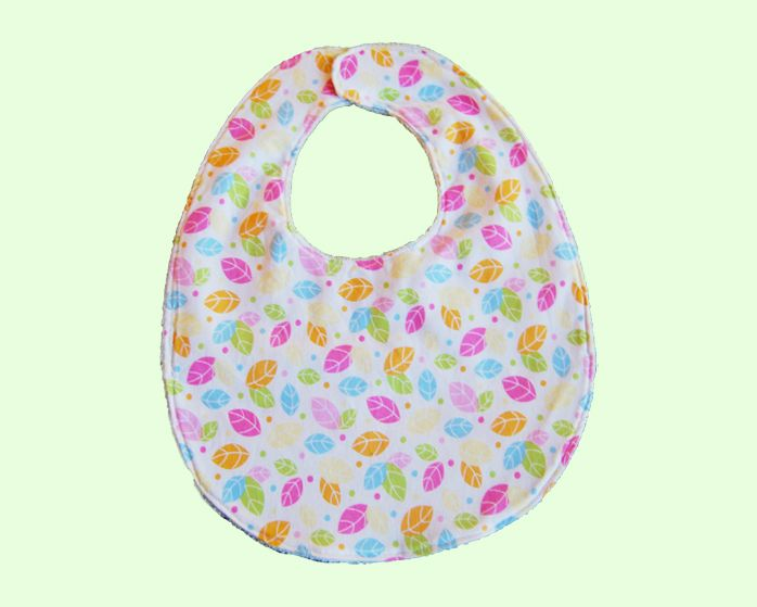 This beautiful Leaves bib is the perfect complement to any outfit. This bib is absorbent with a layer of fleece, and was handmade with love in Australia.