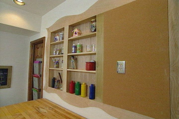 How To Put Recessed Shelves In A Wall Organizing