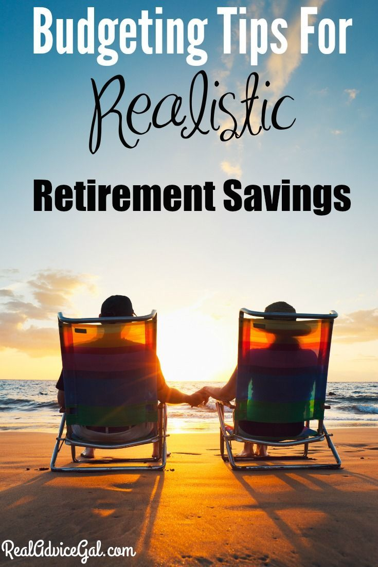 Everyone needs to focus on not only their current finances but also their future needs, check out our Budgeting Tips For A Realistic Retirement Savings!