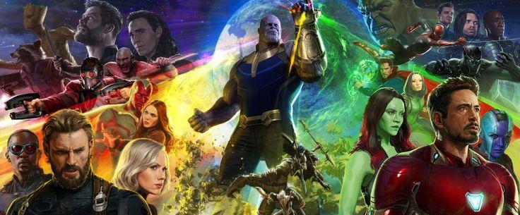 Vingadores: Guerra Infinita   Confira em alta resolução o cartaz completo do filme   Notícia   Omelete
