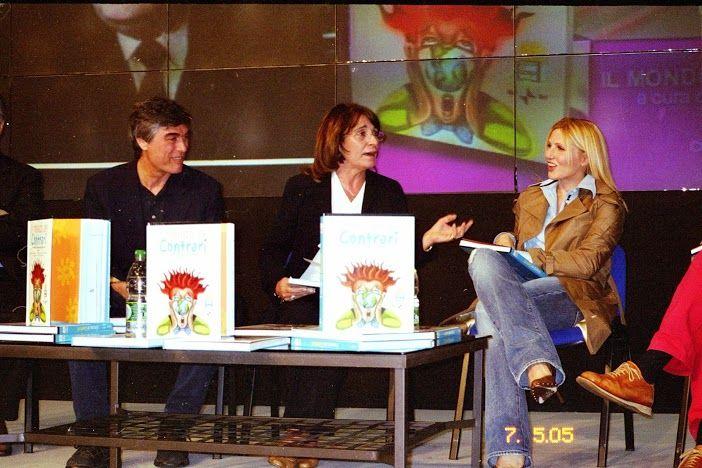 SALONE DEL LIBRO SABATO 7 MAGGIO 2005 A TORINO PER LA PRESENTAZIONE IL MONDO DEI CONTRARI.