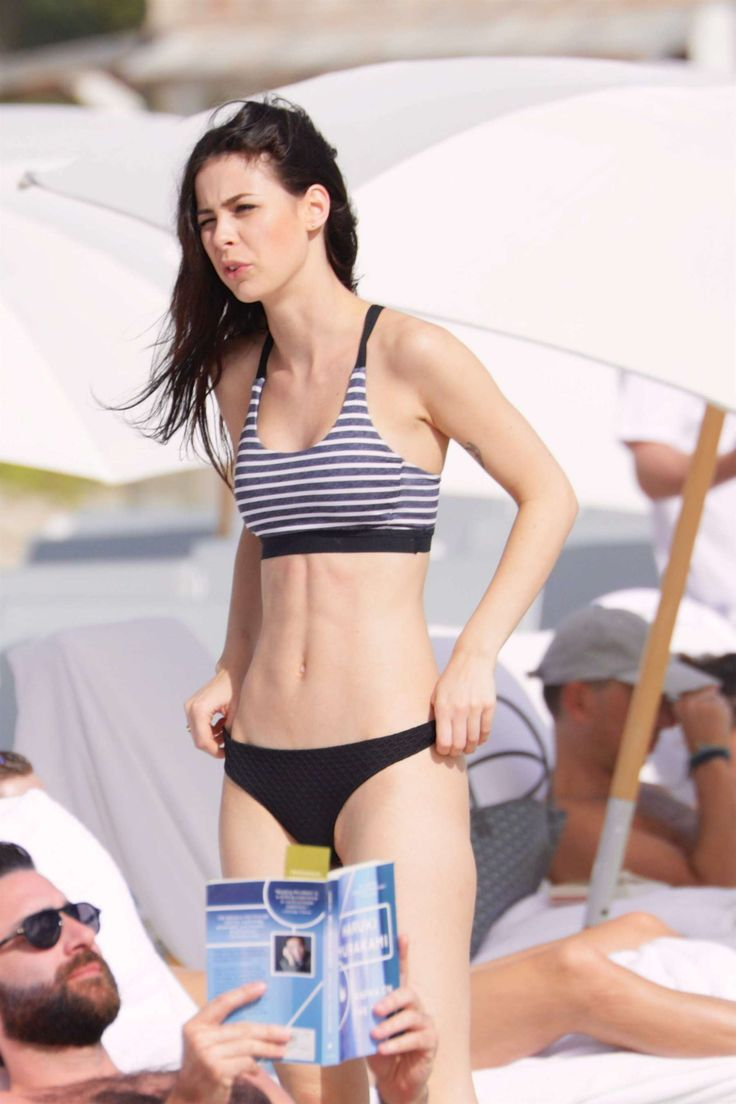 lena meyer landrut wearing bikini on vacation at a beach in miami adds. Black Bedroom Furniture Sets. Home Design Ideas