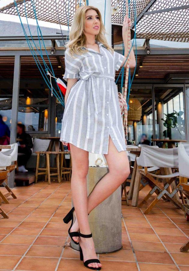 15335e7b44f0 Φόρεμα Miss Pinky mini πουκάμισο ριγέ - Miss Pinky  fashionista  dress   girls  mystyle  outfit  lookoftheday aboutalook  styleblogger   greekstagram ...