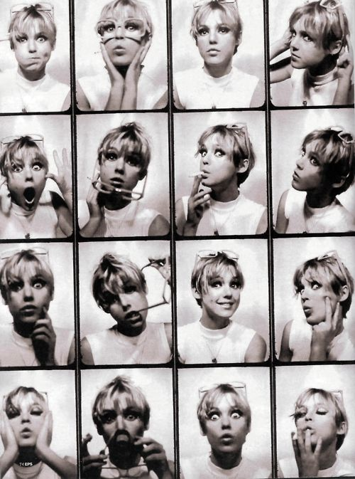 Faces of Edie Sedgwick    I'm thinking of having my hair like her's