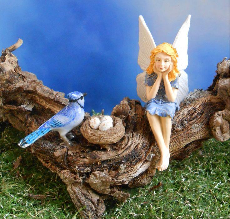 Birds in the Fairy Garden