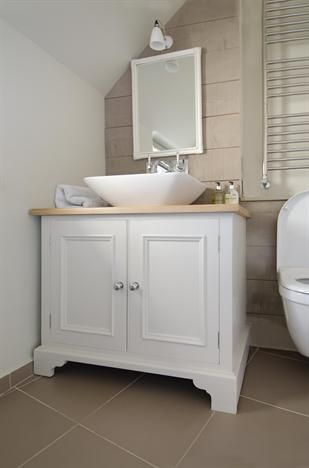 Neptune Bathroom Chichester 600mm Sink Door Base Cabinet