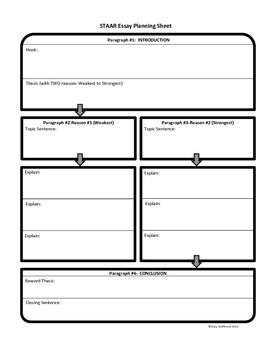 essay planner worksheet