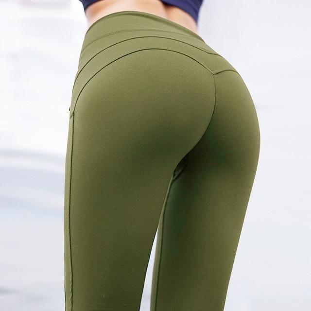 8e342e41c81b3 Fashion Yoga Pants Sport Leggings Women Sport Fitness V Shape Legging Push  Up Leggings Pants Female Running