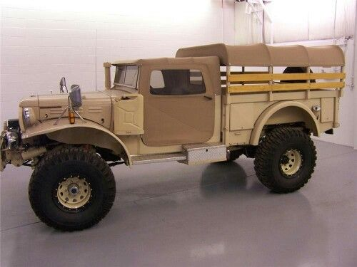custom built 4 X 4 Power Wagon
