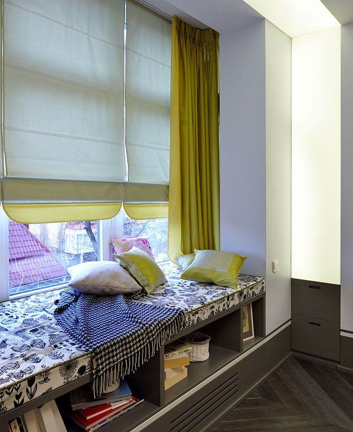 City Apartment Interior Design by Rina Lovko