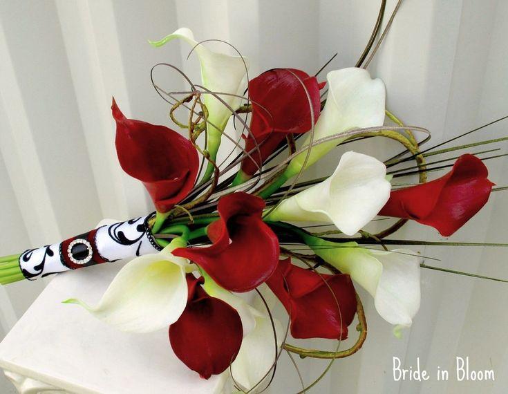Wei 223 E Rote Rosen Brautstrauss Bouquet Florales