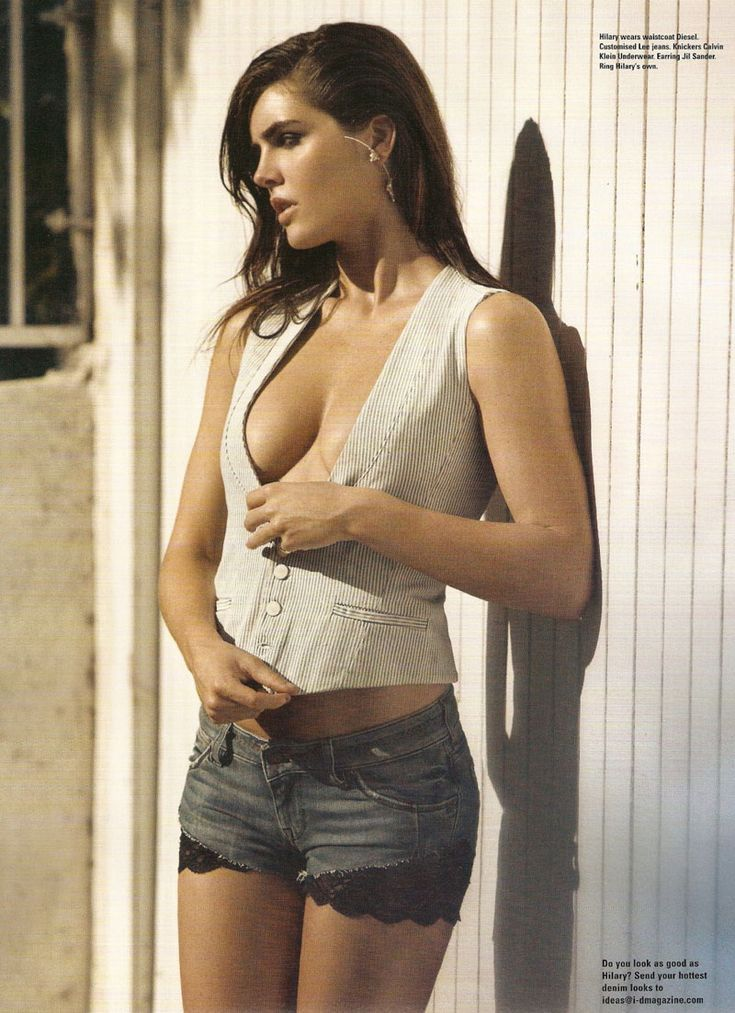Magazine: i-D (Issue #300)  Editorial: Hilary Looks Hot in Denim  Photographer: Todd Cole  Model: Hilary Rhoda
