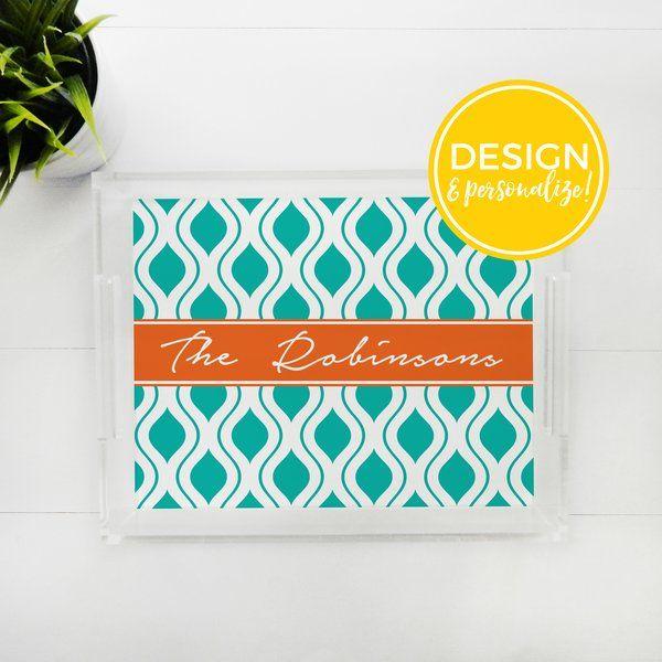 Lucite Tray - Design & Personalize