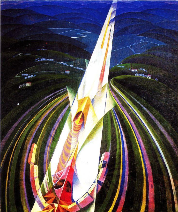 Gerardo Dottori - En vitesse - 1926-1927