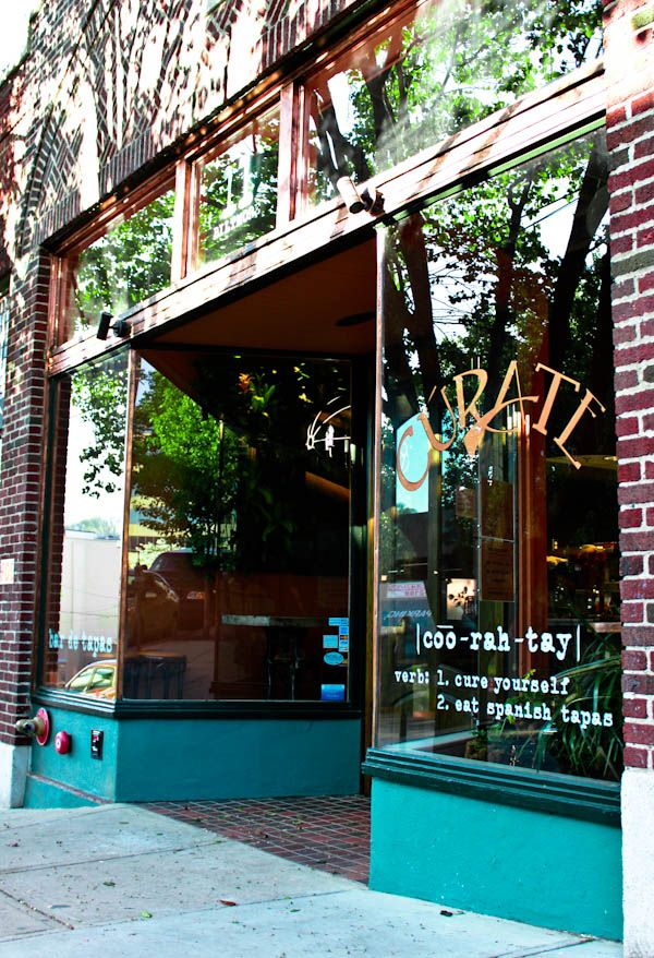 Curate Tapas Bar in Asheville, North Carolina