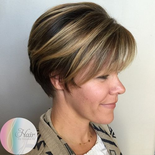 long+pixie+with+highlights