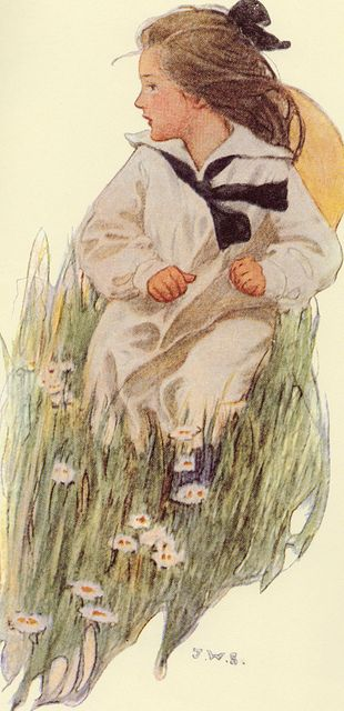 Jessie Willcox Smith. ~ Sometimes we have to run away to see if anyone will come after us. ~