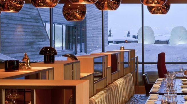 #designlamps at Hotell Åre - Copperhill Mountain Lodge