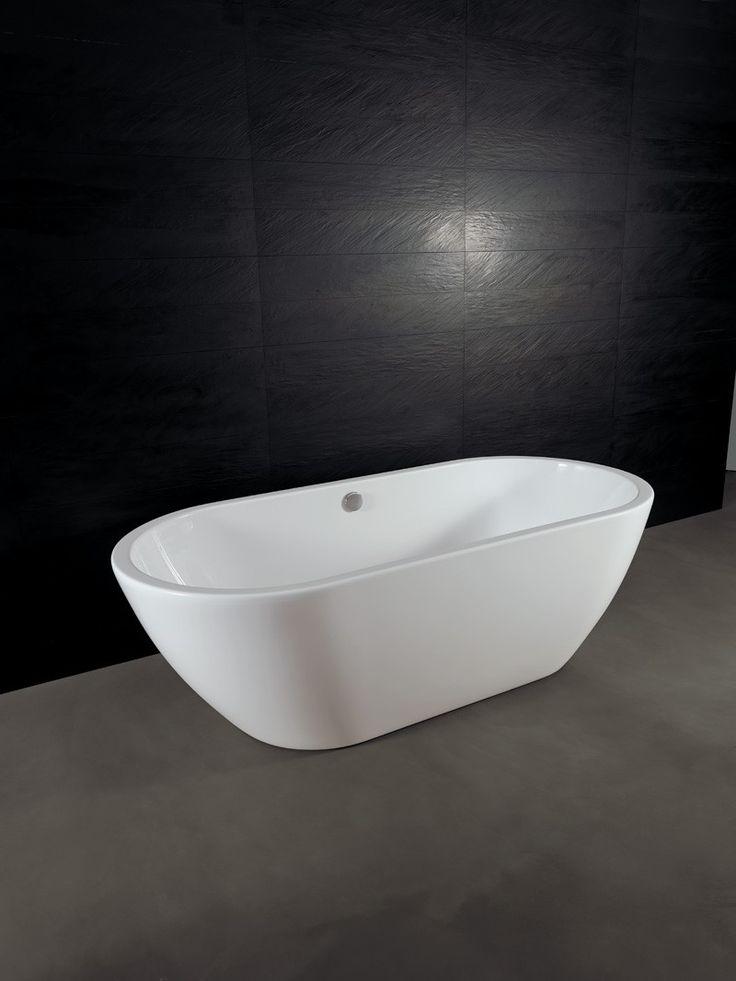 Vasca da bagno freestanding moderna Form Alice Ceramica. [www.viadurini.it]