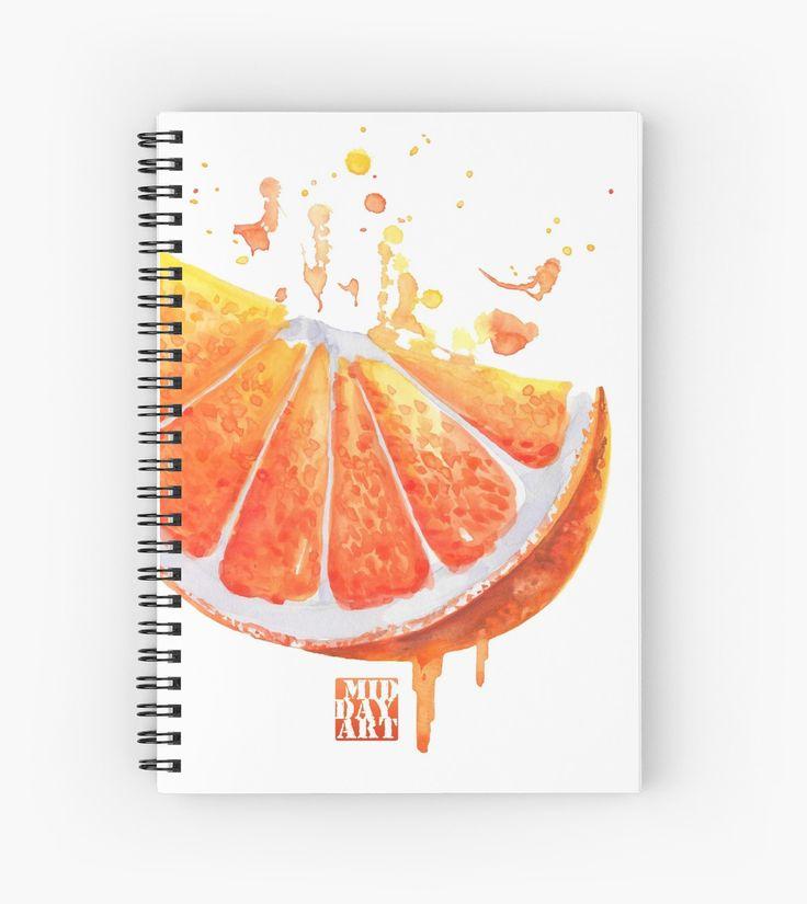 Juicy fruit - sunny orange by farawayart