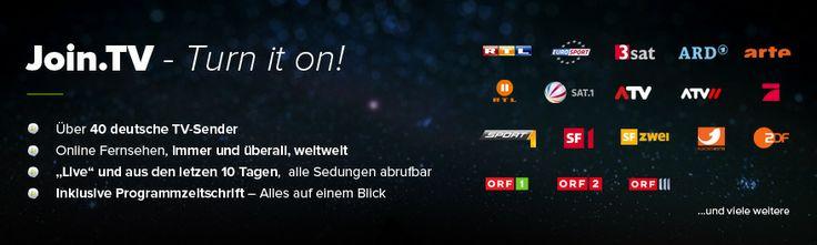 JoinTV - Deutsches TV im Ausland | Deutsches Fernsehen und Serien online sehen | Internetfernsehen und Live TV Deutschland | Fernsehkanäle und Sendungen aufnehmen - Deutsches TV und Serien online, Internetfernsehen und Live TV aus Deutschland | Fernsehkanäle und TV-Sender im Ausland aufnehmen