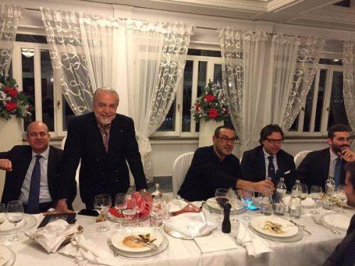 [FOTO] - Cena di Natale a Villa D'Angelo: che allegria tra gli azzurri! Novità tra i regali di ADL ai calciatori