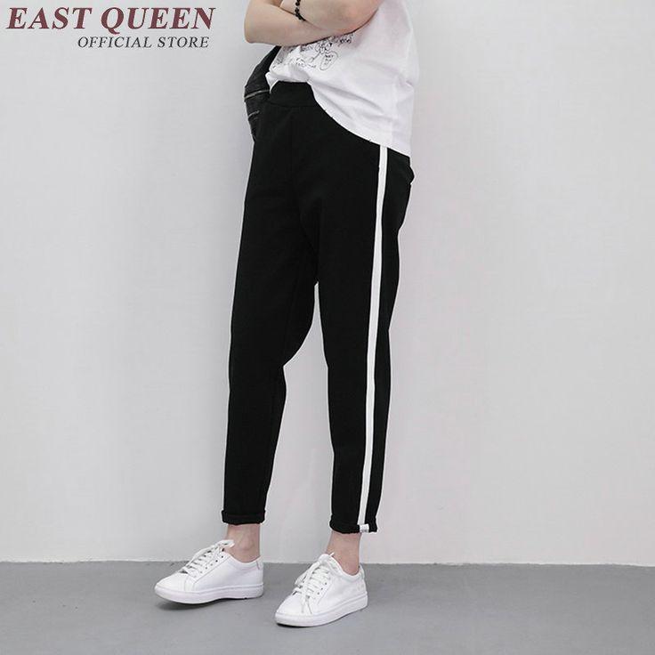 Гарем брюки женские штаны тренировочные брюки женщины 2016 новые поступления женская мода штаны женский AA1284 купить на AliExpress