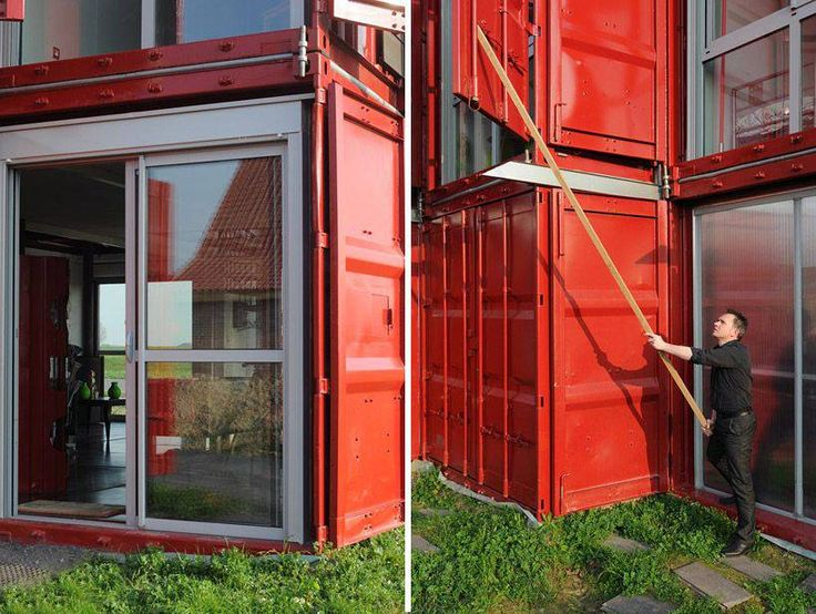 1000 id es sur le th me maisons containers sur pinterest for Maison container 13