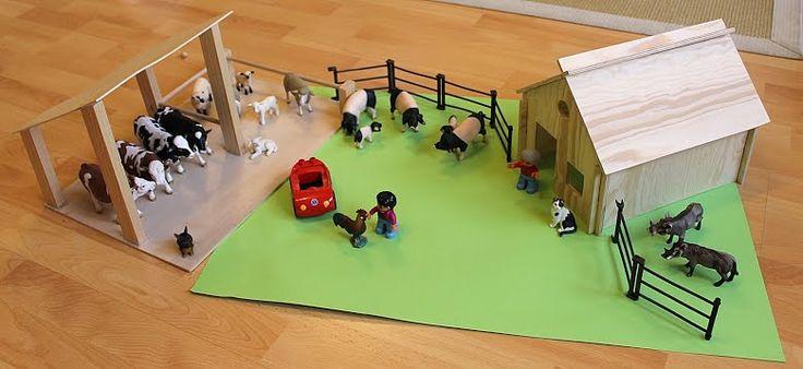 anleitung inspiration zum bauernhof bauen kinderzimmer kids room pinterest. Black Bedroom Furniture Sets. Home Design Ideas