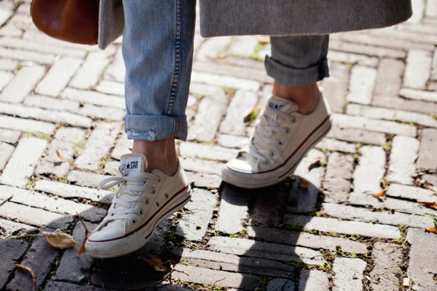 Converse All Star Blanche Style