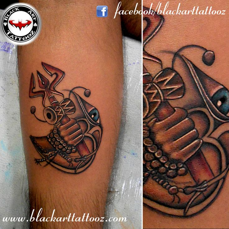 "Tattoo Designs Mahadev: ""Lord Shiva"" Done By Ravi Gohel At Black Art Tattooz"