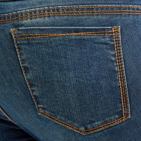 Petite Bandolino Women's Plus Millennial Curvy Jeans, Size: 24W Petite, Blue