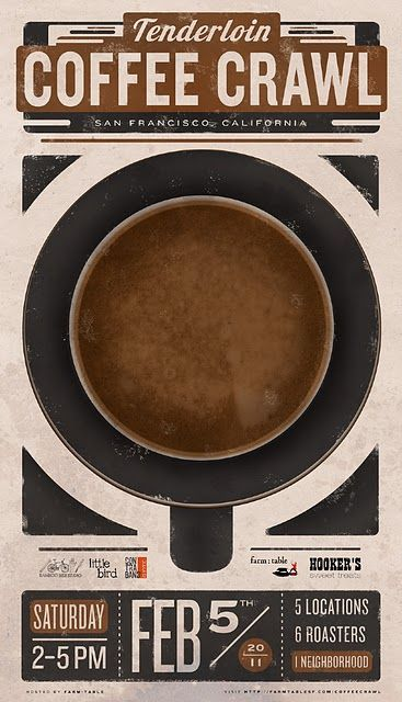 Coffee Crawl Poster