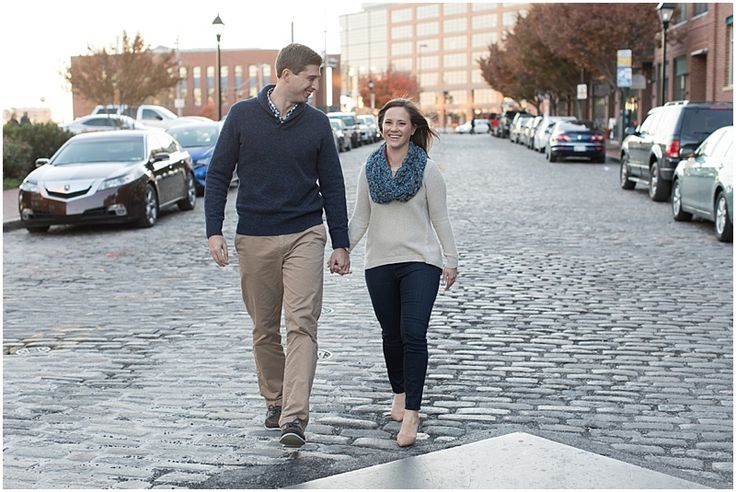 Fells Point Baltimore Engagement Session. Laura's Focus Photography.
