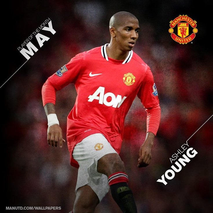 Congratulations Ashley Young, our Player of the Month for May.