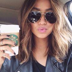 20 Modèles de Cheveux Mi-Longs Très Chic | Coiffure simple et facile