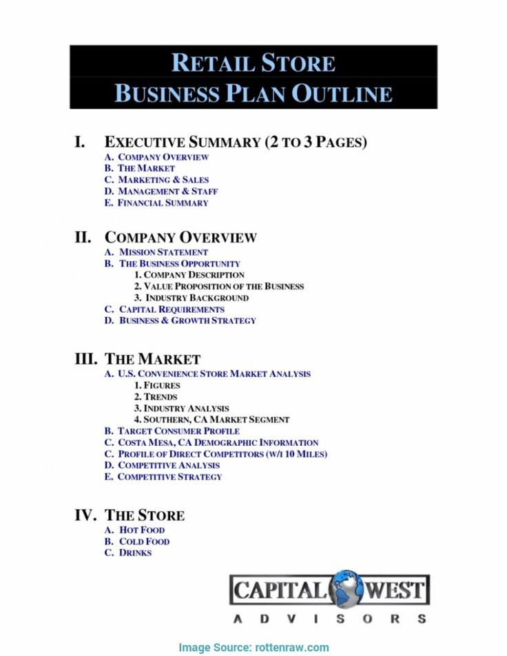 Retail Business Proposal Template in 2020 Business