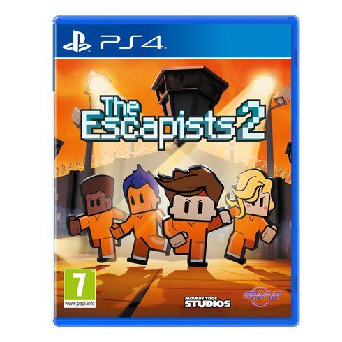 Superb The Escapists 2 PS4 Now At Smyths Toys UK! Buy Online Or Collect At Your Local Smyths Store! We Stock A Great Range Of Playstation 4 Games At Great Prices.