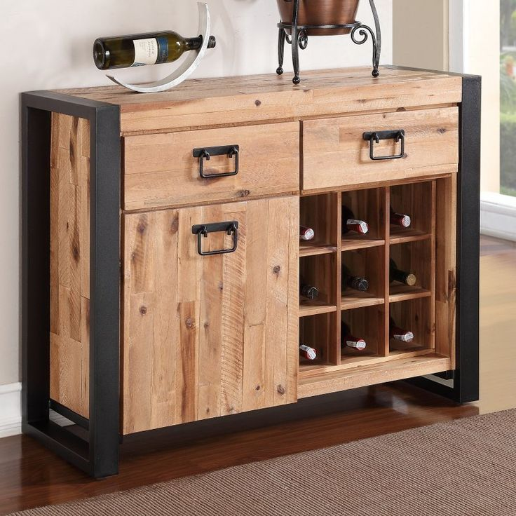 Modus Weston Solid Wood Sideboard - Natural Acacia - 7HN573