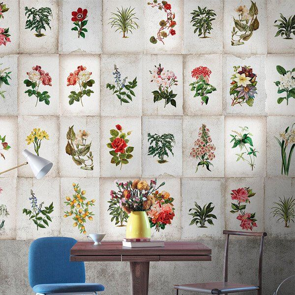papel pintado flores In My Mind | Tiendas On