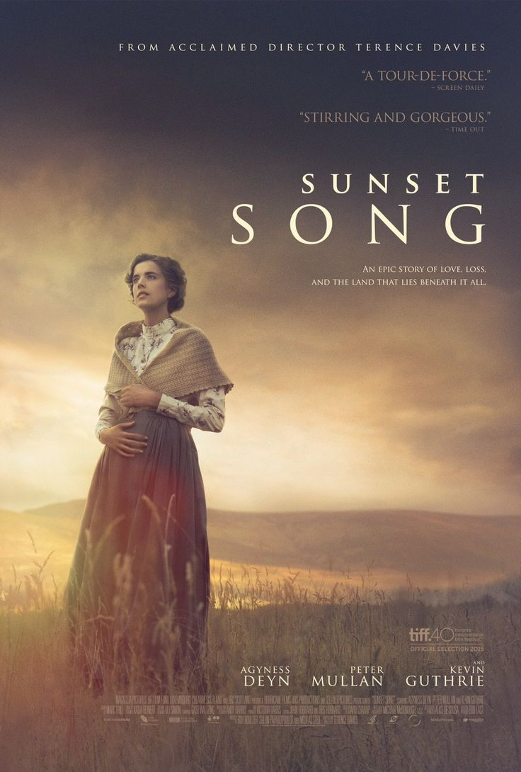 Poster Sunset Song- Beautifully filmed, at times a little slow moving, but worthwhile-Agnes Deyn is surprisingly good