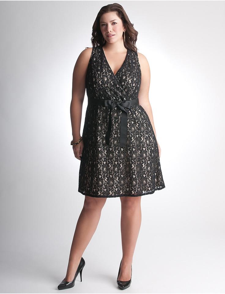 Full Figure Lace Dress by Lane Bryant   Lane Bryant