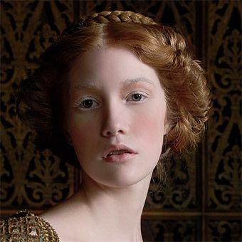Renaissance style Hair and Wedding Attire