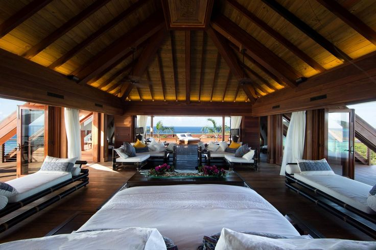 Necker Island, Sir Richard Branson's private island –  #Travel #Caribbean –  http://www.xoprivate.com/suites/necker-island/