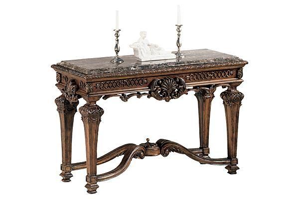 The Casa Mollino Sofa Console Table From Ashley Furniture