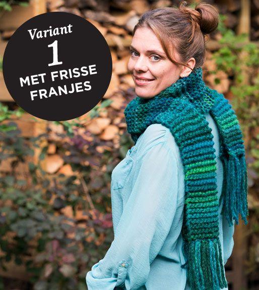 |Breipakket voor snelle, simpele sjaal of col