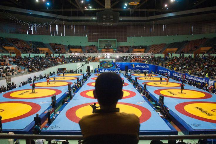 Iran Holds Largest-Ever National Wrestling Tournament   United World Wrestling