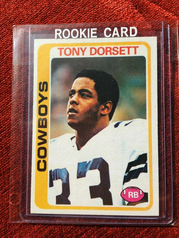 1978 Topps Tony Dorsett Dallas Cowboys