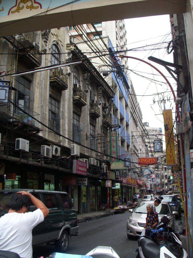 Dans les rues du quartier chinois de Manille