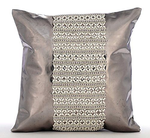"Designer Silver Cushion Covers, Modern Pillow Covers, 12""... https://www.amazon.com/dp/B016H8Z9FY/ref=cm_sw_r_pi_dp_x_L5HaybEXSMGZ0"